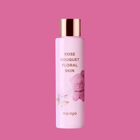 Цветочный тонер с экстрактом розы и шиповника, 155 мл / Manyo Rose Bouquet Floral Skin