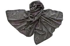 Палантин серый из вискозы 1280
