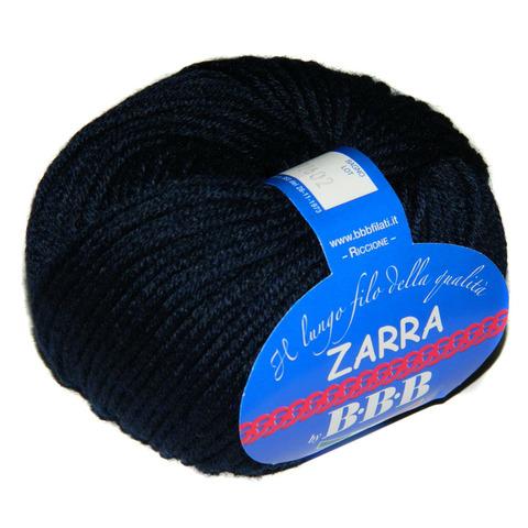 Пряжа BBB Filati Zarra 0409 темно-синий