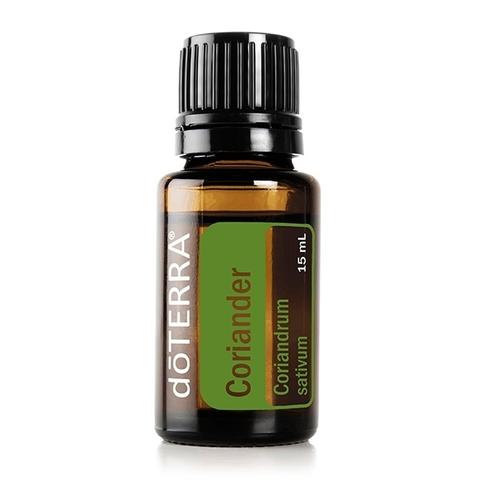 Кориандр (Семена кориандра (кинзы) / Coriandrum sativum), эфирное масло, 15 мл / CORIANDER ESSENTIAL OIL