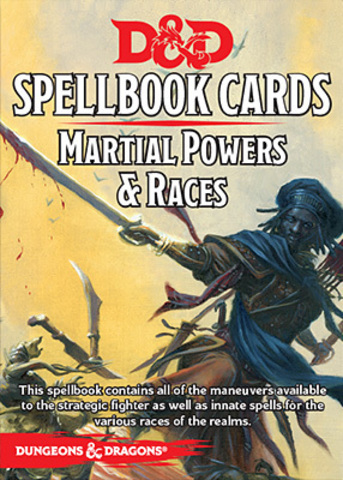 D&D Next: Spellbook Cards (Martial Powers)