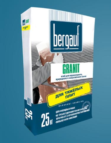 Клей для плитки Бергауф Гранит 25 кг