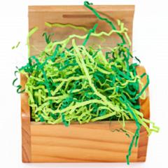 Наполнитель бумажный, Зеленый микс, 50 гр