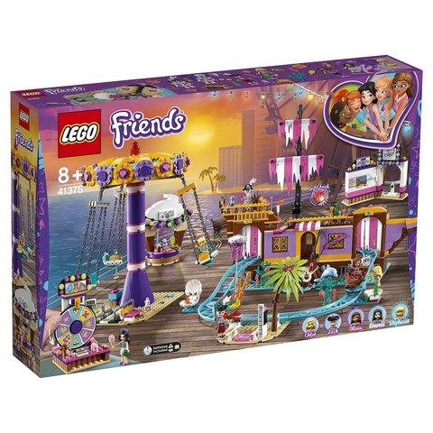 LEGO Friends: Прибрежный парк развлечений 41375 — Heartlake City Amusement Pier — Лего Френдз Друзья Подружки