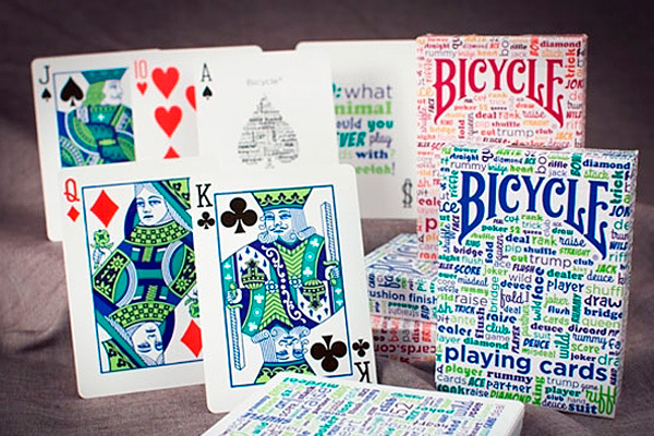 Карты Bicycle Table Talk