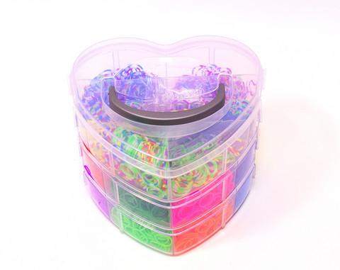 Набор резинок для плетения браслетов DIY