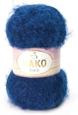 Пряжа Nako Paris 3266 темно-синий