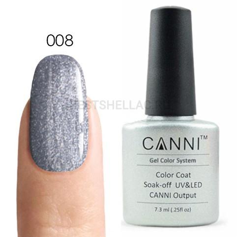 Canni Canni, Гель-лак № 008, 7,3 мл 008.jpg