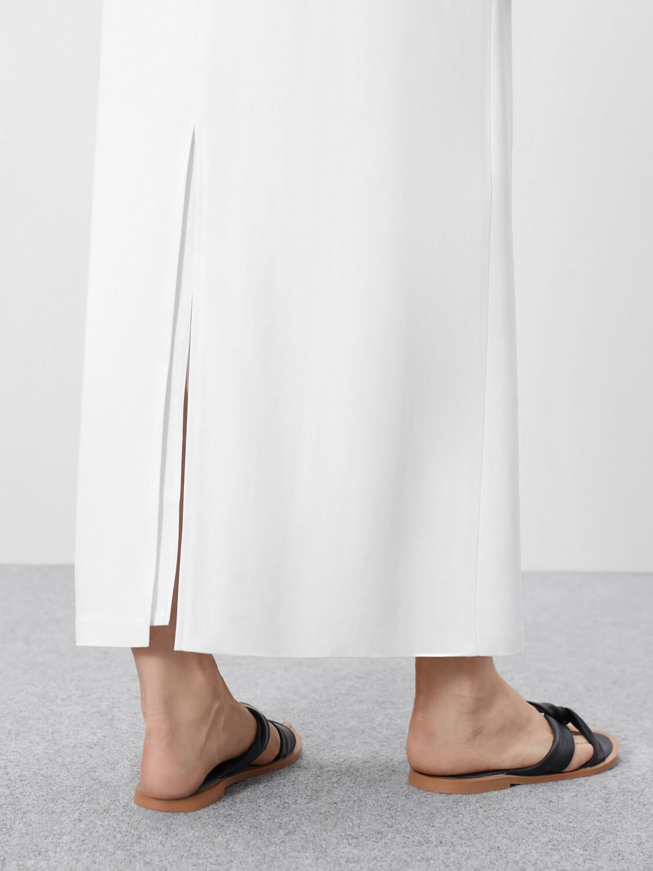 Платье-комбинация Connie двухслойное, Молочный