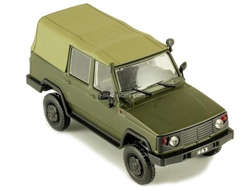 UAZ-3172 khaki 1:43 DeAgostini Auto Legends USSR #94