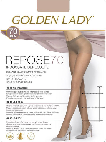 Колготки Repose 70 Golden Lady