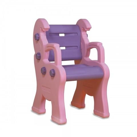 """Детский пластиковый стул """"Королевский"""", розовый"""