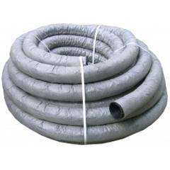 Труба дренажная гофрированная d=160мм с фильтром с перфорацией (1 п.м.)