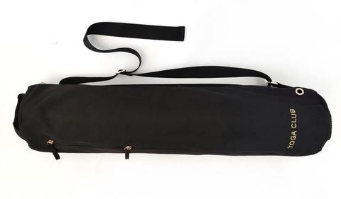Черная cумка для йога коврика PRO