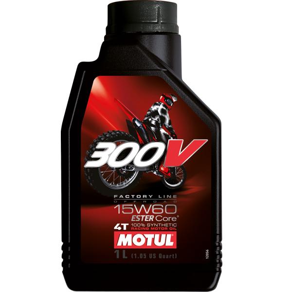 Motul 300V 4T Off Road 15W60 Синтетическое моторное масло для мотоциклов