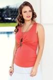 Блузка для беременных 01478 красный