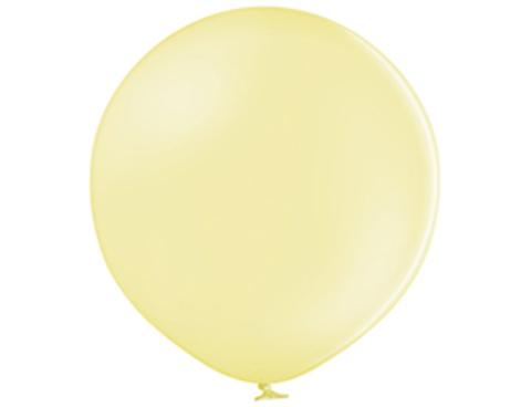 Большой шар макарунс желтый