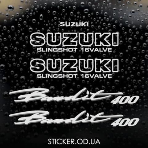 Набор виниловых наклеек на мотоцикл SUZUKI BANDIT 400, 1996