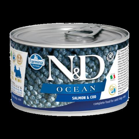 Farmina Dog Ocean Salmon & Cod Mini Консервы для собак мелких пород с Лососем и треской