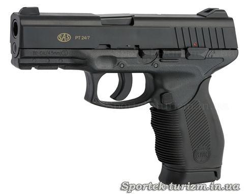Пістолет пневматичний SAS PT 24/7 калібру 4,5 мм,