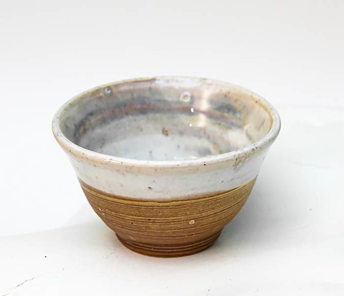 CUP115 Пиала ручной работы коричневого цвета фото 04