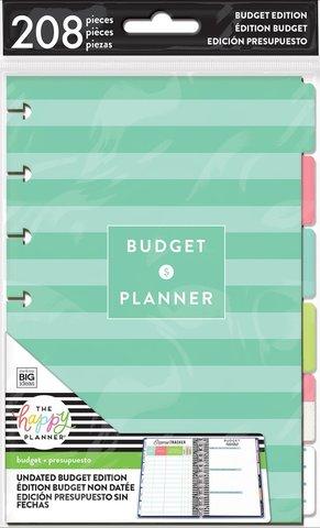 Внутренний блок для ежедневника MINI HAPPY PLANNER® - Extension Pack-Budget