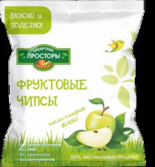 Чипсы яблочные кисло-сладкие 'Сибирские просторы', 30г упаковка