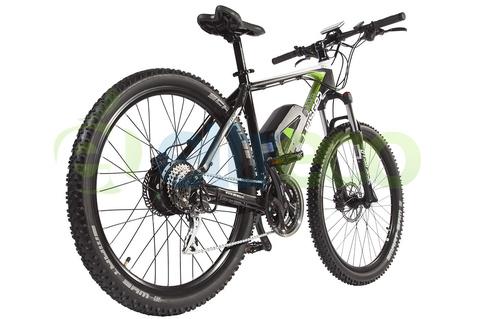 Велогибрид Leisger MD5 Adventure 27,5 Black