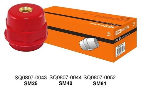Изолятор SM25 силовой Н25хD27хМ8мм TDM