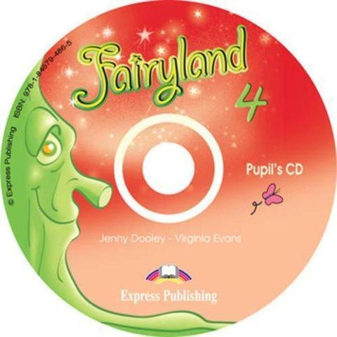 Fairyland 4. Pupil's Audio CD. Аудио CD для работы дома