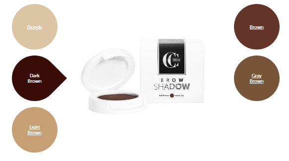 Тени для бровей CC Brow Brow Shadow Grey brown