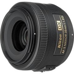 Объектив Nikkor AF-S DX 35mm f/1.8G Black для Nikon