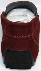 Стильные мужские мокасины IKOC 1555-3 Red.