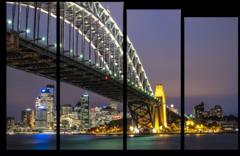 """Модульная картина """"Сиднейский мост"""""""