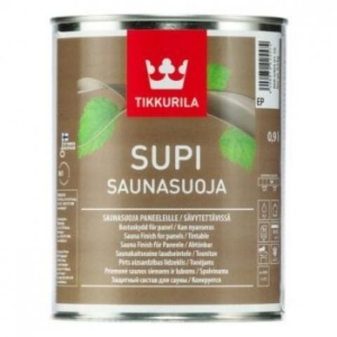 Tikkurila Supi Saunasuoja / Тиккурила Супи Саунасуоя пропитка для саун и бань