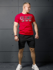 Мужская футболка Olimp Live & Fight Laf Red