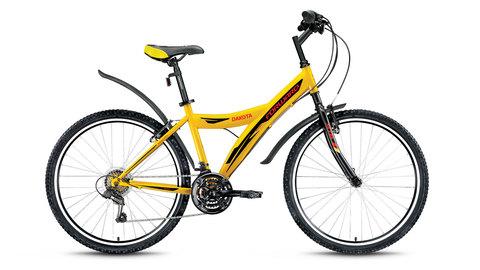 Forward Dakota 26 1.0 (2016) желтый с черным