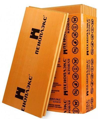 Теплоизоляция Пеноплэкс Комфорт 1185х585х100 мм 4 плиты в упаковке