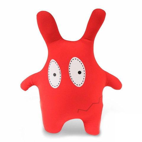 Подушка-игрушка «Монстрик красный»-2