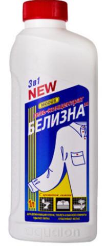 БЕЛИЗНА-М 3в1 гель-конц. отбел. и дезинф. 1л Лимон (Модус) 1/8