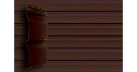 Акриловый сайдинг Гранд Лайн корабельная доска слим 3.0 D 4 темный дуб