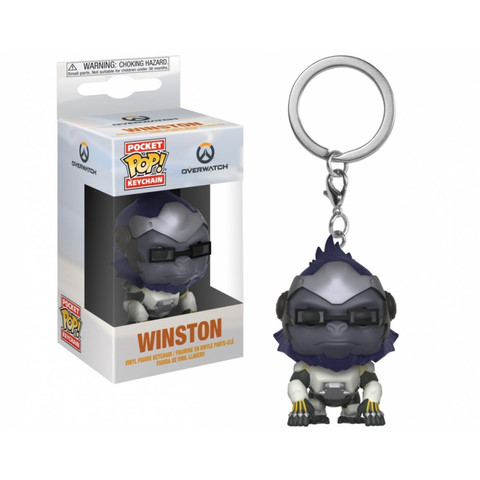 Брелок Уинстон || POP! Keychain Overwatch  Winston