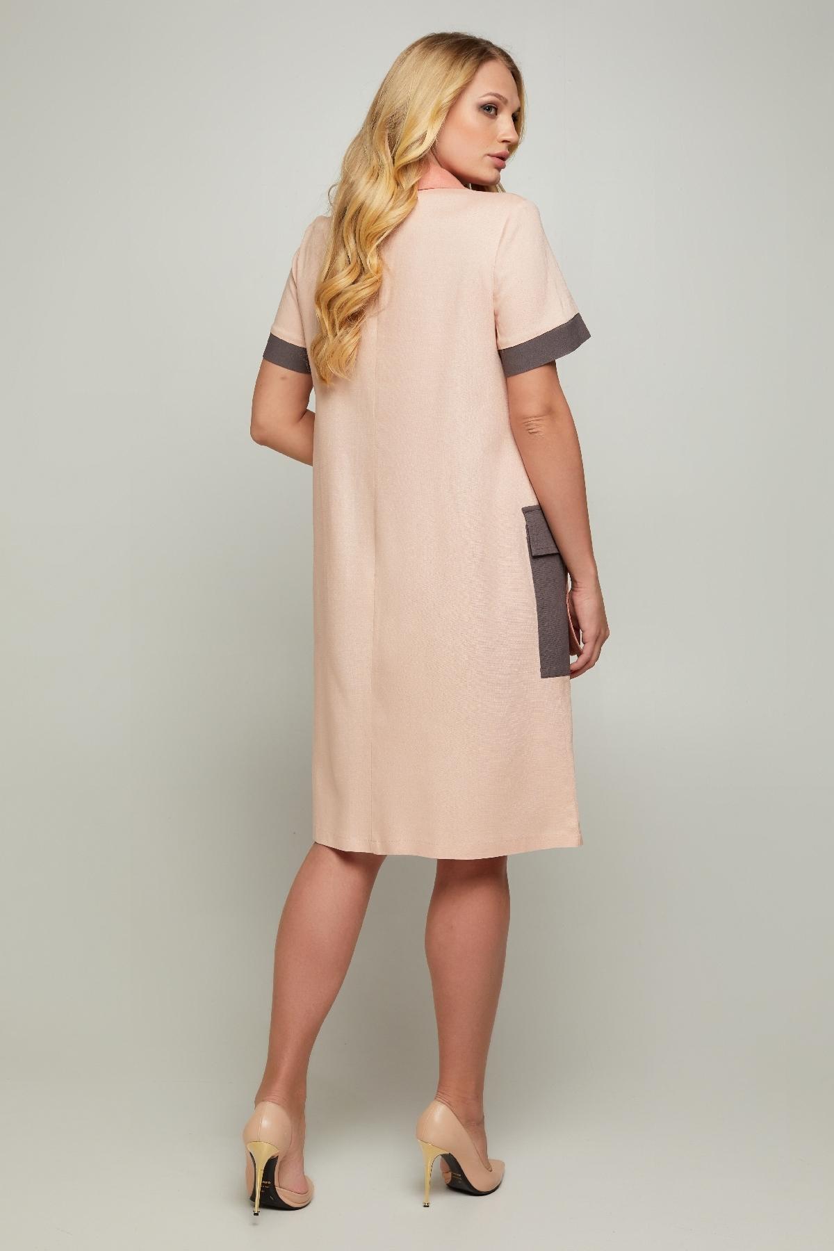 Платье Аланья (пудра )