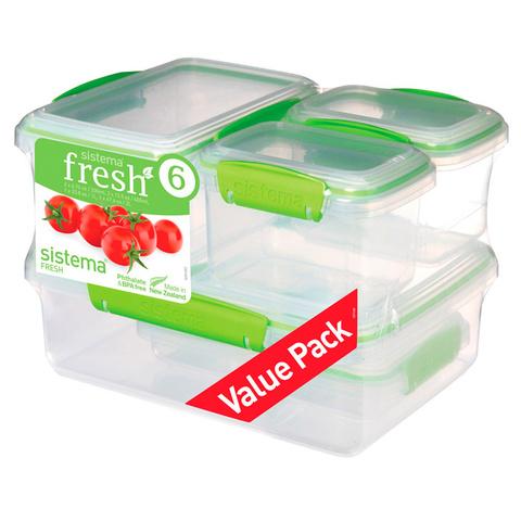 Набор контейнеров Fresh, 6 предметов
