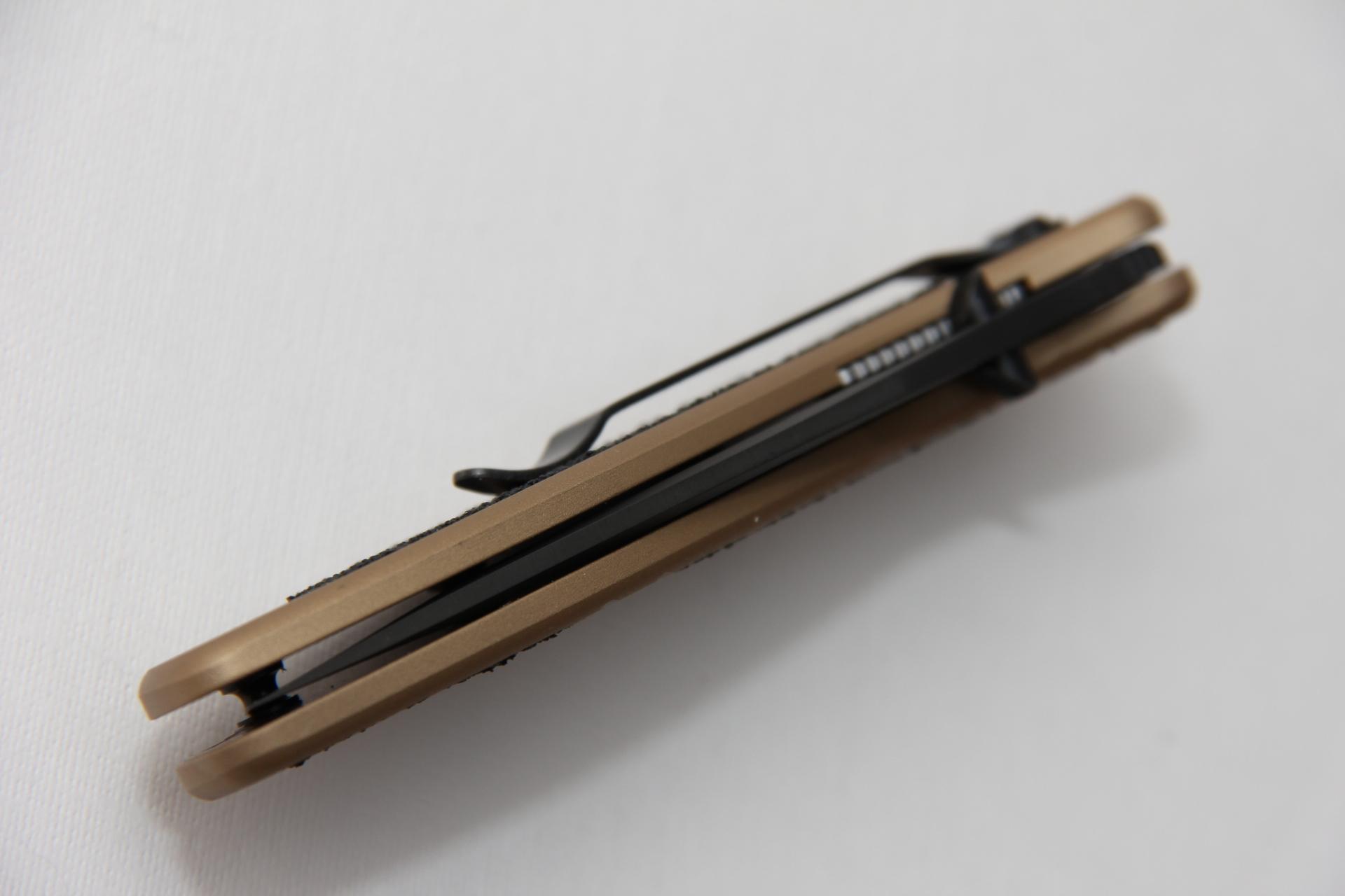 Нож Kershaw 1670DSBLK Blur Desert Sand - фотография