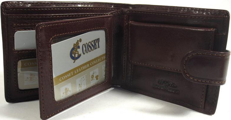 Мужской портмоне Cosset (A32-112-330brown)