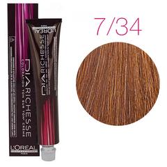 L'Oreal Professionnel Dia Richesse 7.34 (Блондин золотисто-медный) - Краска для волос