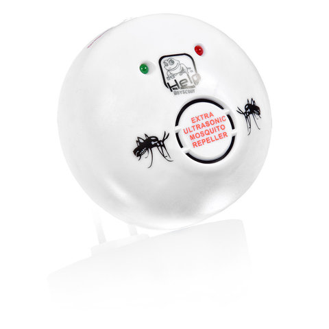 Отпугиватель комаров и слепней ультразвуковой Help (80404) 220 В