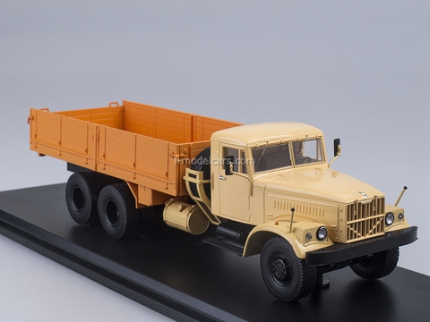 KRAZ-257B1 board beige-orange 1:43 Start Scale Models (SSM)