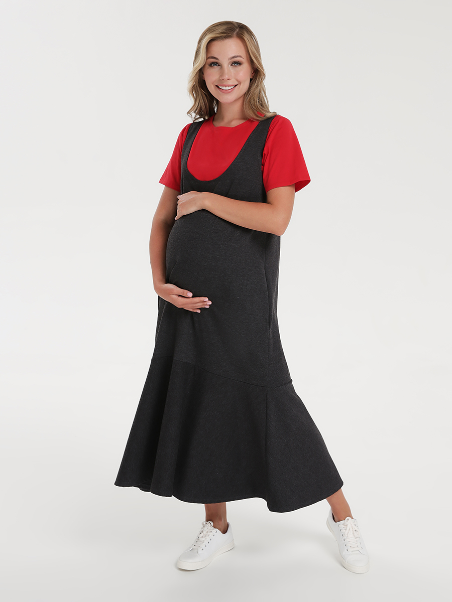 Платье для будущих и кормящих мам - Фото 7
